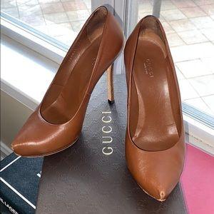 "Gucci ""nappa steve"" heels"